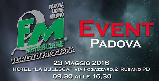 Event Padova il 23 Maggio all'Hotel La Bulesca