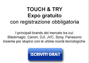 Touch & Try expo gratuito