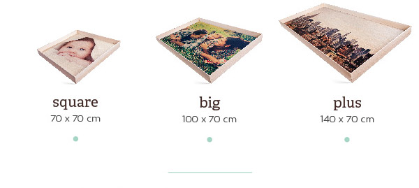 Square (70x70) - Big (100x70) - Plus (140x70)