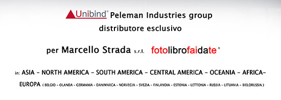 Unibind Peleman Industries group distributore esclusivo per Marcello Strada