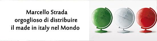 Marcello Strada orgoglioso di distribuire il Made in Italy nel mondo