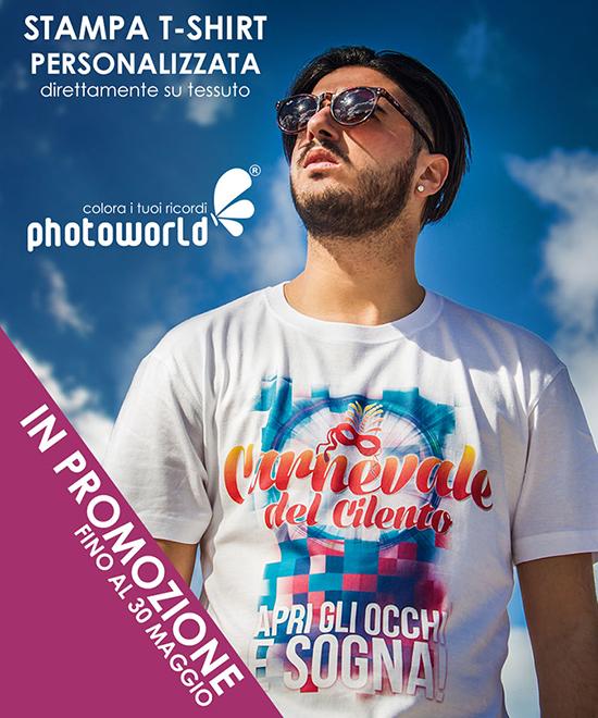 Stampa T-shirt fotografiche