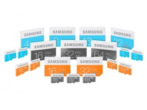 Samsung lineup_microSD and SD cards_low