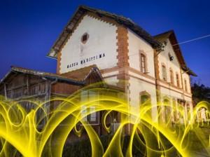 La partenza del treno giallo (Ivan Falardi)
