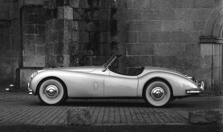 Jaguar XK 140 1954, foto G. Bretzel